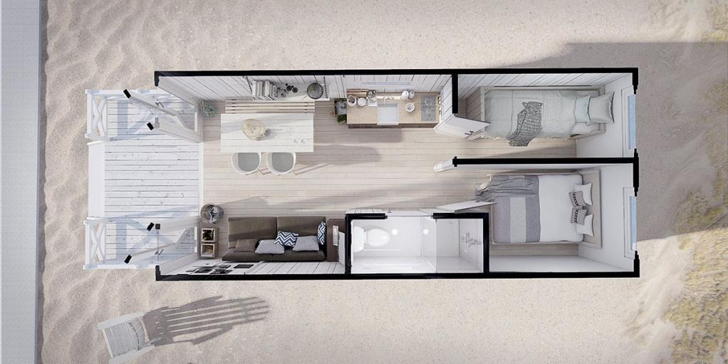 haagse strandhuisjes. Black Bedroom Furniture Sets. Home Design Ideas