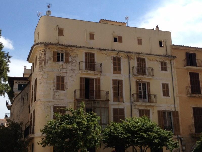 Oud gebouw Palma