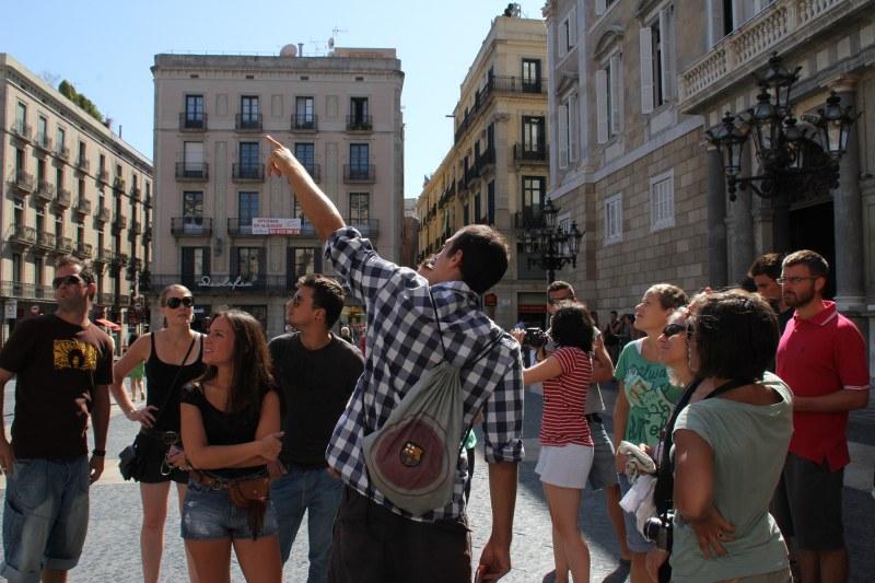 Tour of city Barcelona