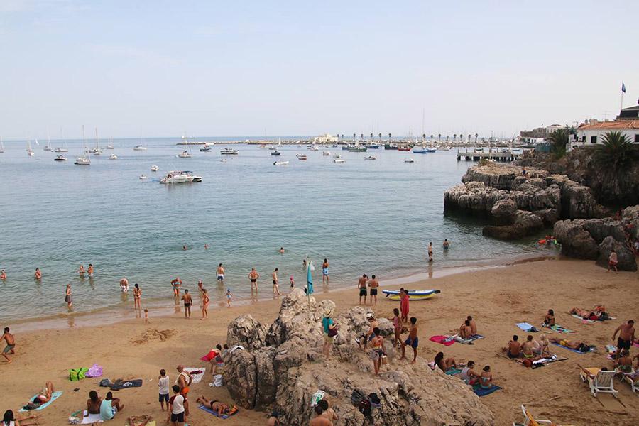 Lisbon beach Cascais