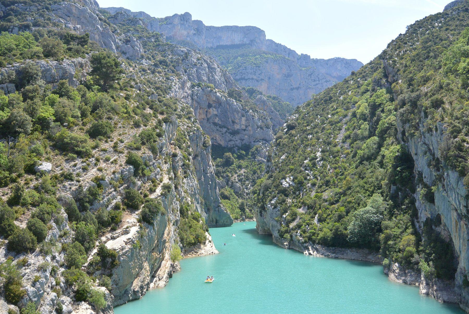 Blauw water Frankrijk