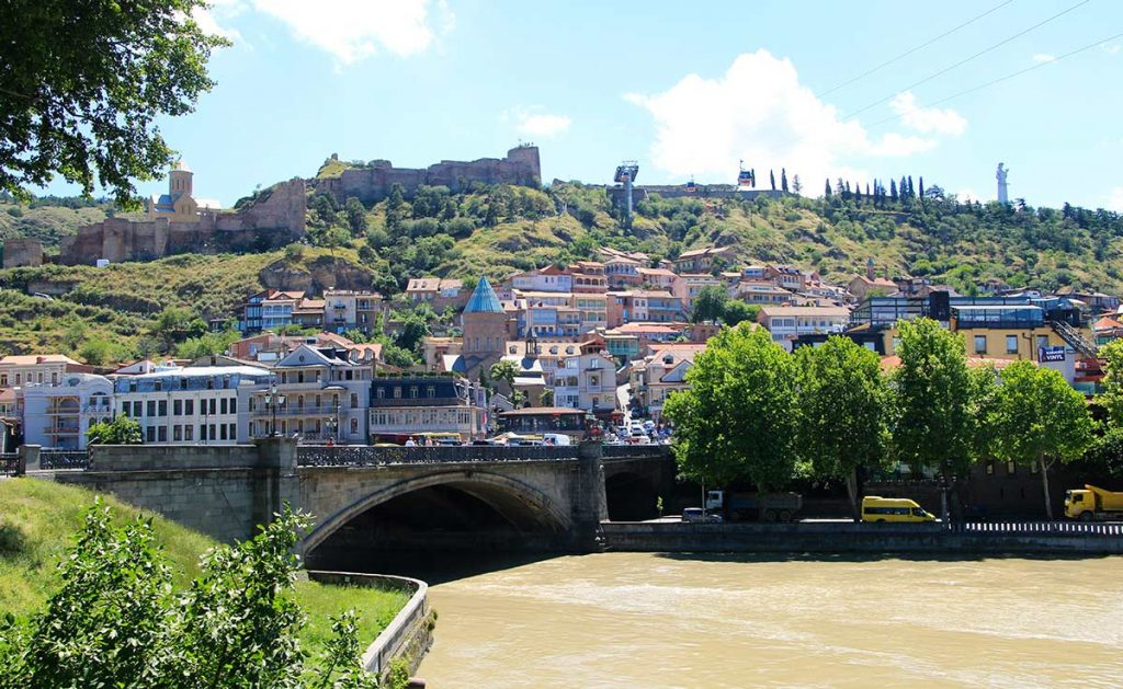 Tbilisi in Georgië