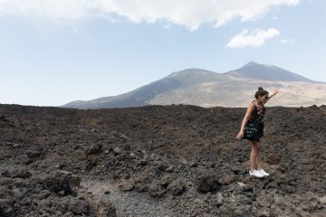 Tenerife eiland vulkaan