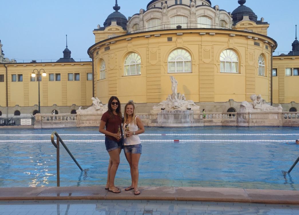 Mooiste badhuis Boedapest