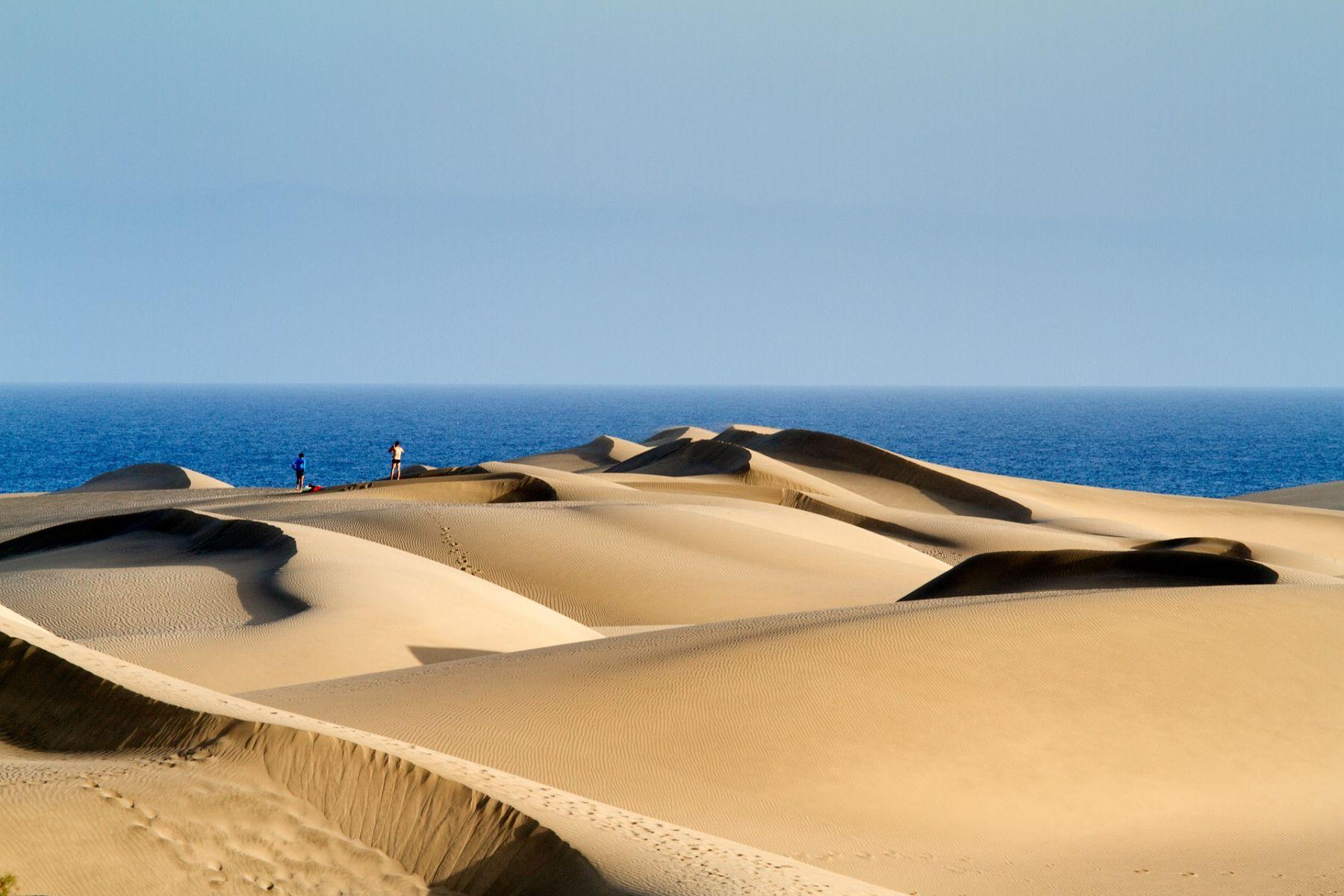 Zandduinen Canarische eilanden