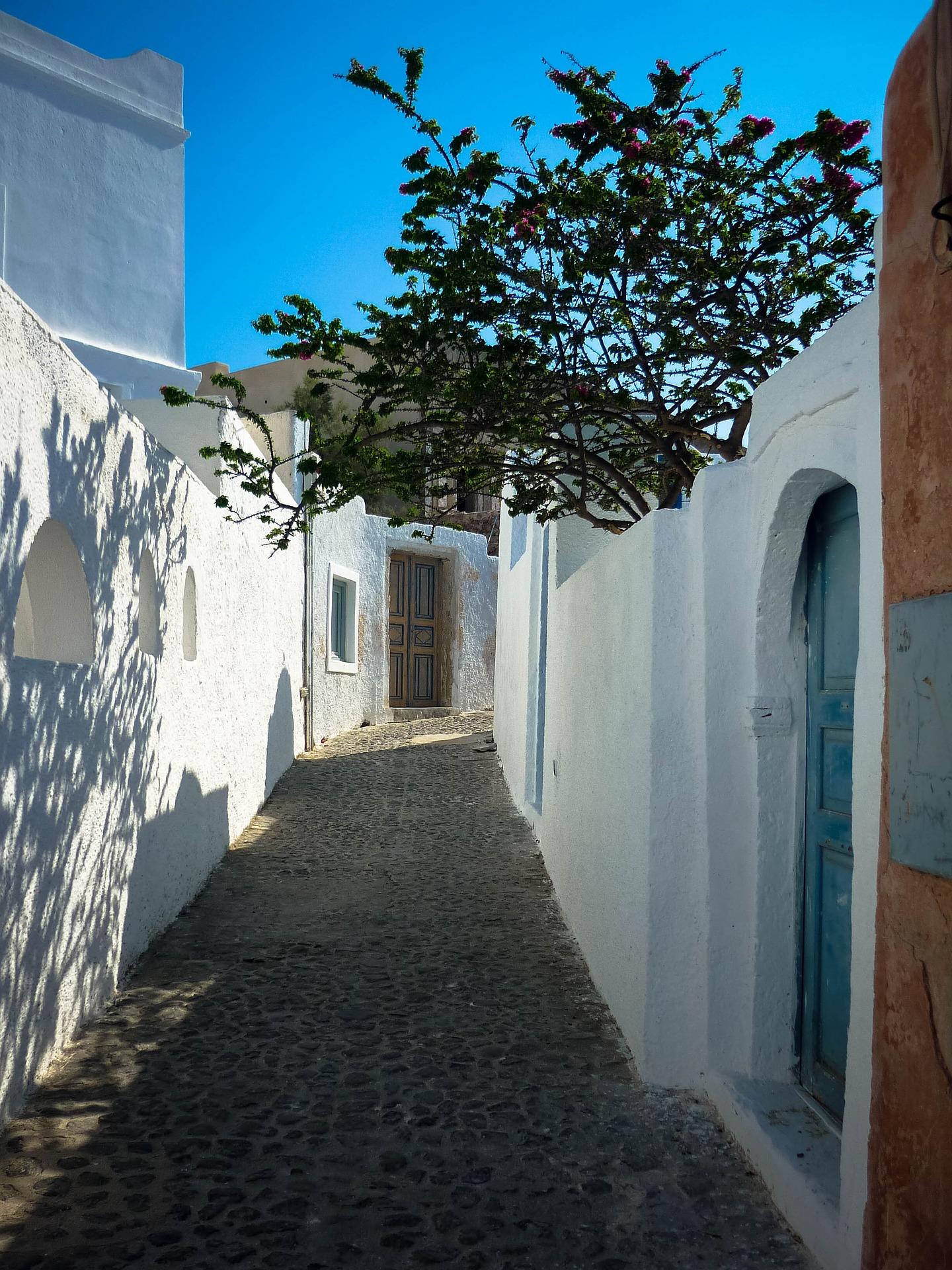 Santorini Griekenland eiland