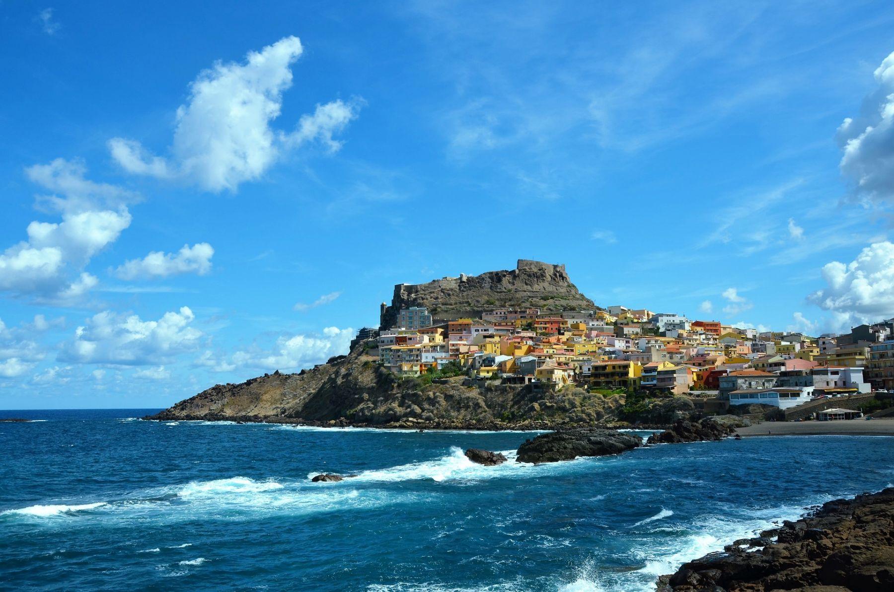 Sardinië dorp