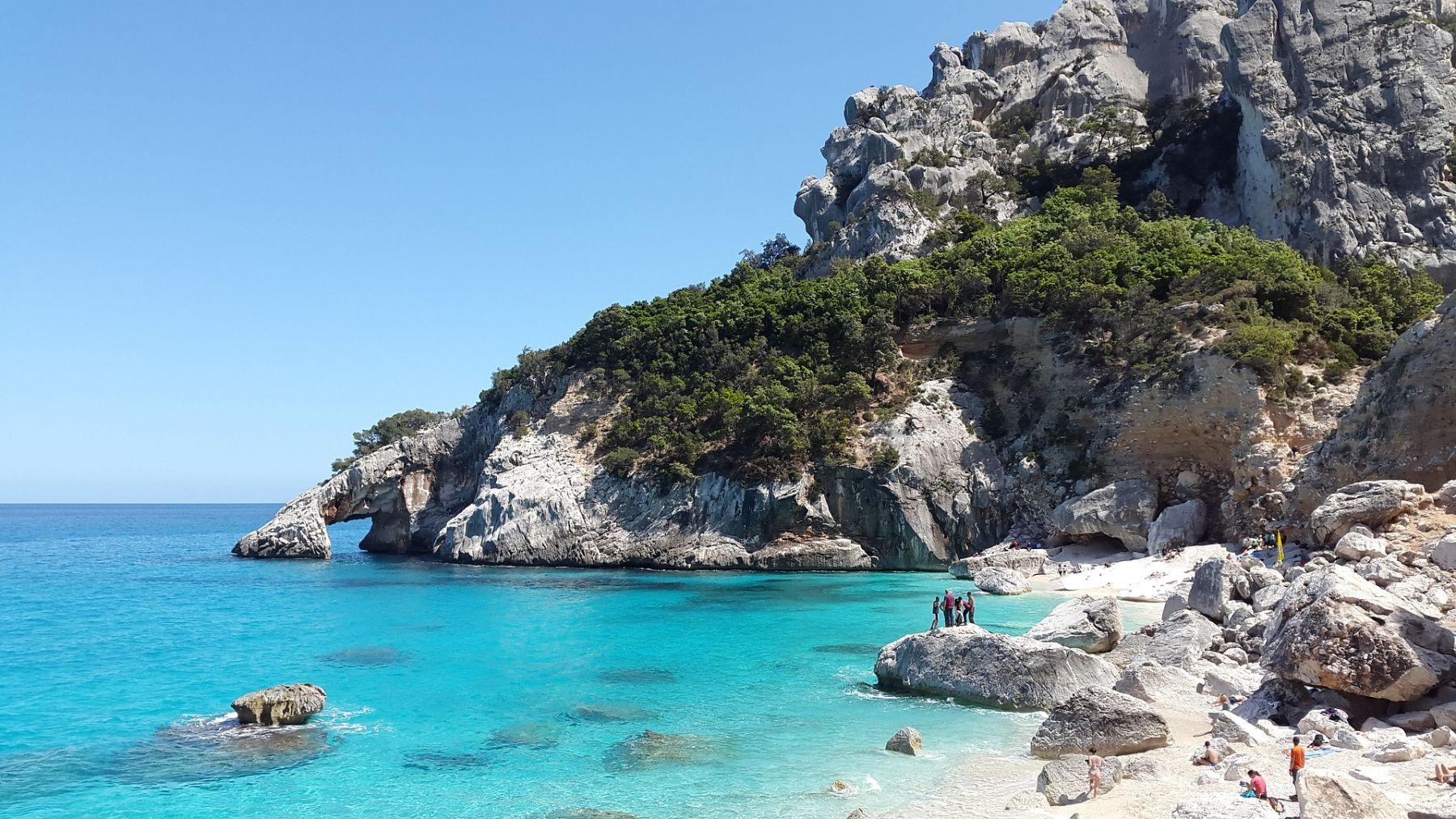Sardinië strand