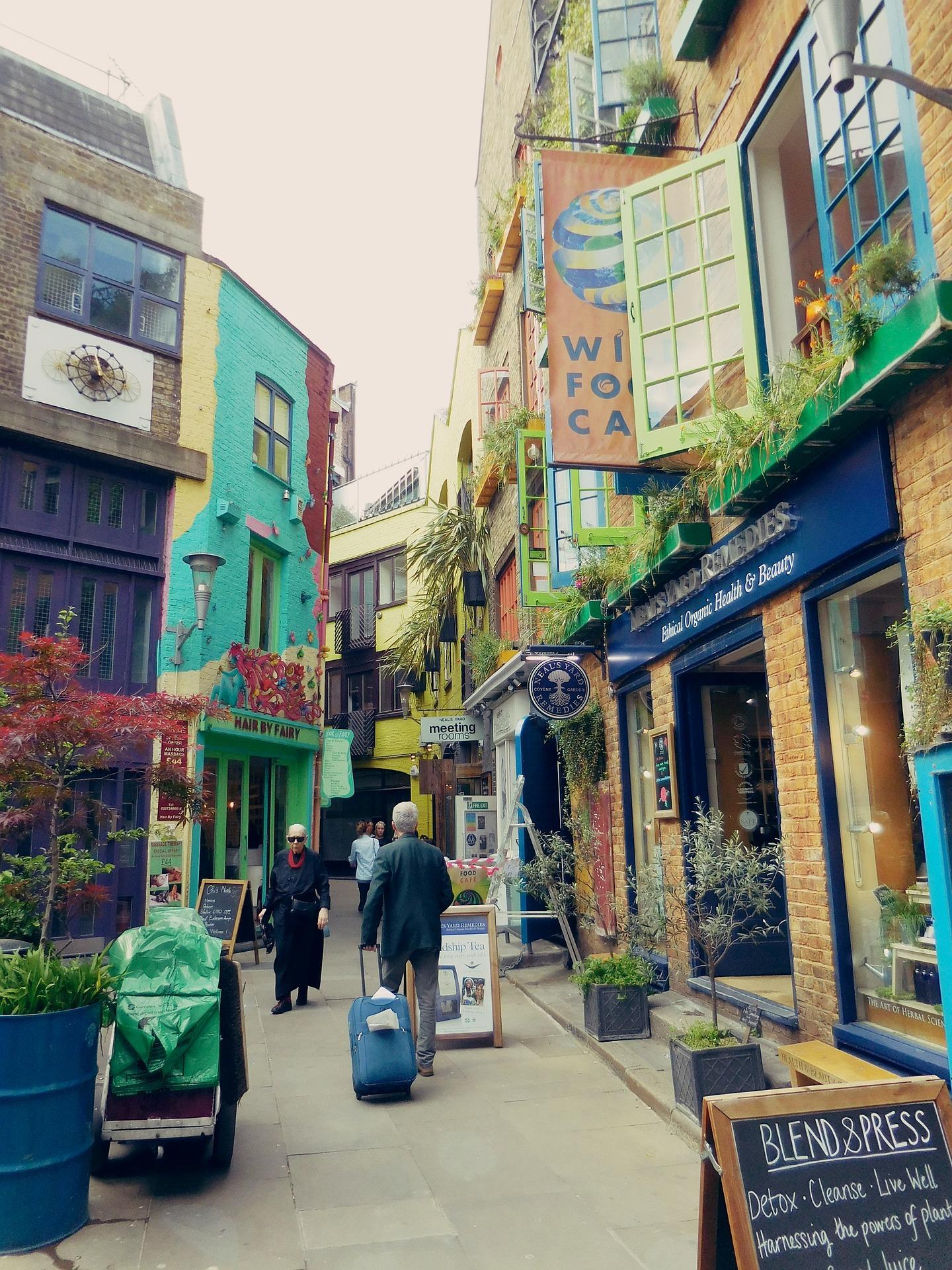 Neal's yard Londen huizen