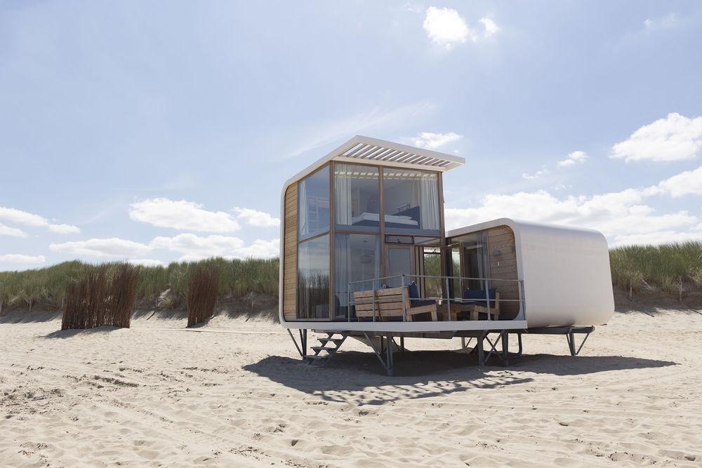 Luxe strandhuisje