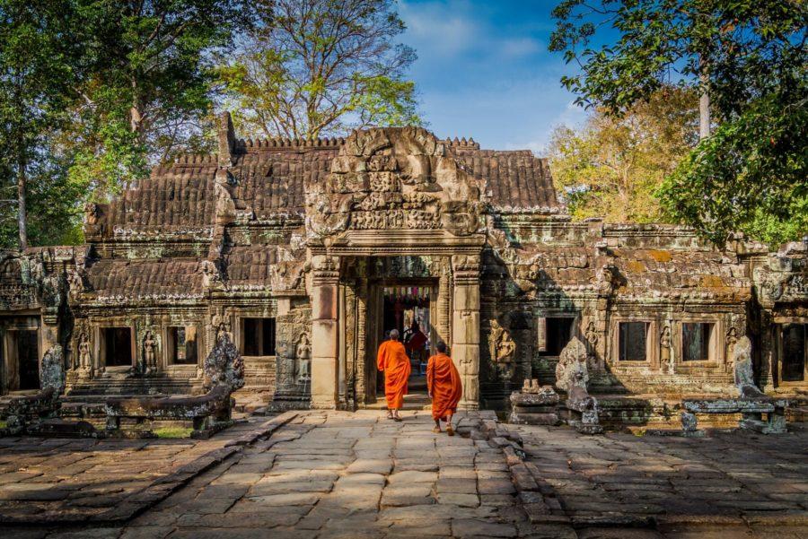 Tempel angkor cambodia