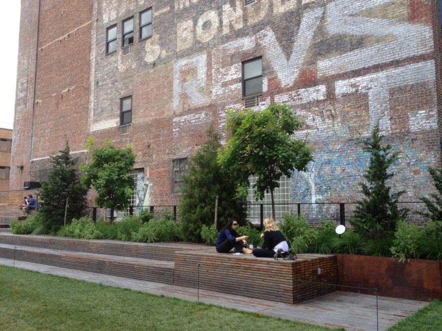 High Line city park